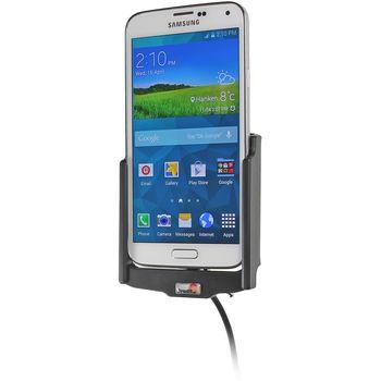 Brodit držák do auta s nabíjením USB a CL + PanzerGlass sklo pro Samsung Galaxy S5 G900