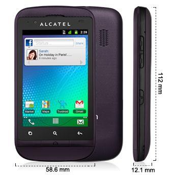 Alcatel One Touch 918D černý