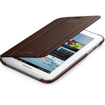 Samsung polohovací pouzdro EFC-1G5SAE pro Samsung Galaxy Tab 2, 7.0 (P3100/P3110), hnědá