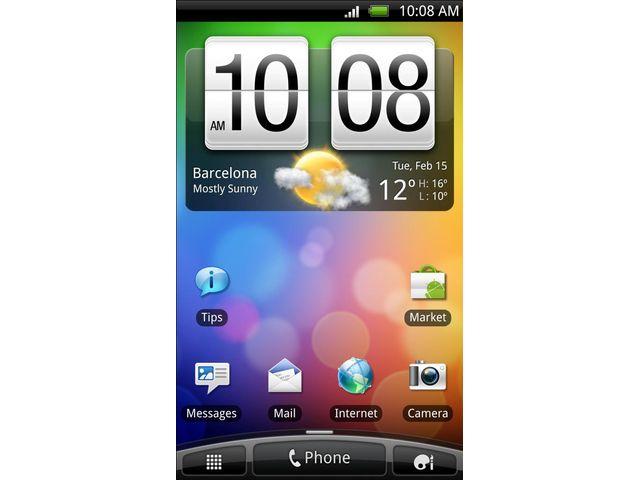 obsah balení HTC Desire S modrá + 32GB karta