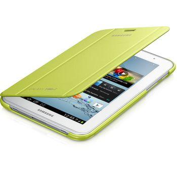 Samsung polohovací pouzdro EFC-1G5SME pro Samsung Galaxy Tab 2, 7.0 (P3100/P3110), zelená