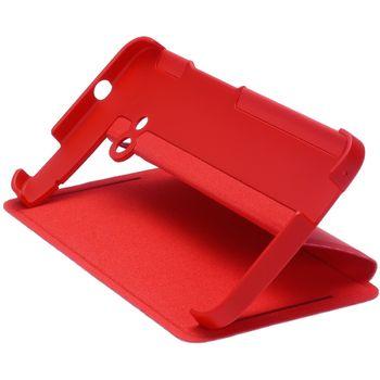 HTC flipové pouzdro se stojánkem Double Dip Flip HC V841 pro HTC One, červené