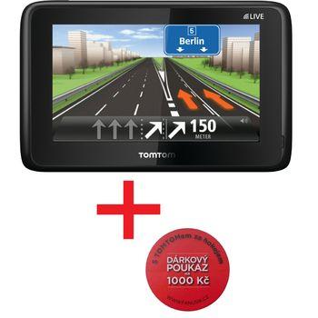 TomTom GO 1005 Traffic + 2 roky map + poukaz v hodnotě 1000