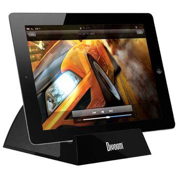 Divoom stojánek s reproduktorem iFit-3 pro iPad a iPhone, černý
