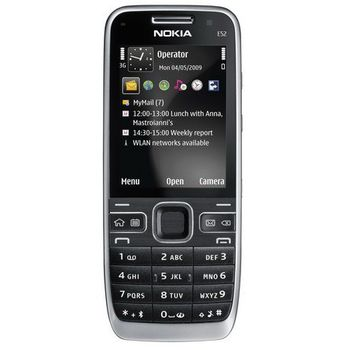 Nokia E52 Black + Držák do auta CR-115