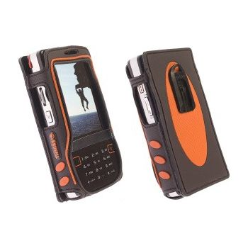 Krusell pouzdro Active - Sony Ericsson M600i/W950i - černá/oranžová