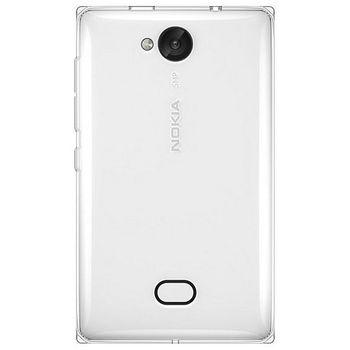 Jekod TPU silikonové pouzdro Nokia Asha 503, bílé