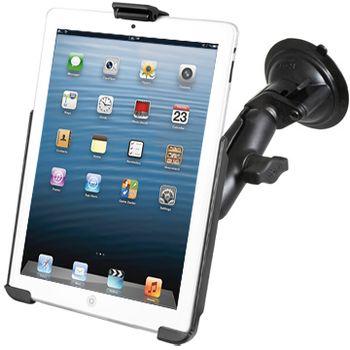 RAM Mounts držák na iPad mini do auta s extra silnou přísavkou na sklo, sestava RAM-B-166-AP14U