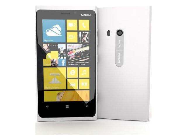 obsah balení Nokia Lumia 920 bílá + Brando ochranná fólie na displej