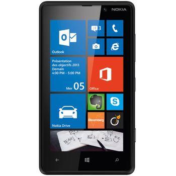 Nokia Lumia 820 Black + SanDisk ultra rychlá paměťová karta 16GB