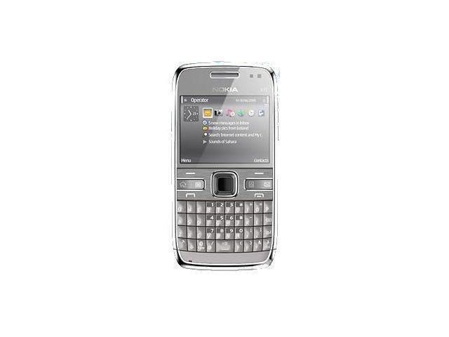 obsah balení NOKIA E72 Metal Grey (4GB) + Krusell pouzdro Classic