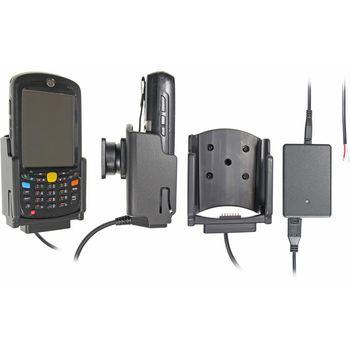 Brodit držák do auta na Motorola (Symbol) MC55/MC65/MC67 bez pouzdra, se skrytým nabíjením