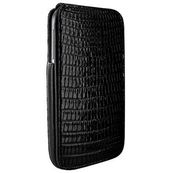 Piel Frama pouzdro pro Samsung Galaxy S4 iMagnum, Lizard Black