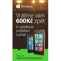 Nokia vrací zpět 600kč při nákupu Lumia 530 a 630