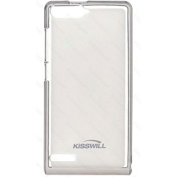 Kisswill TPU pouzdro pro Huawei Y6 II Compact, průhledné