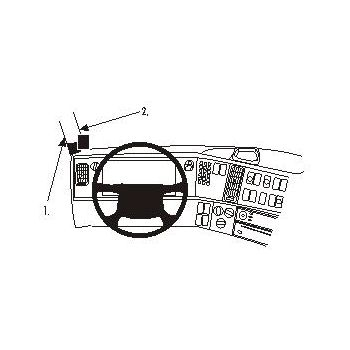 Brodit ProClip montážní konzole pro Volvo FH/NH series 07-12, na levý sloupek