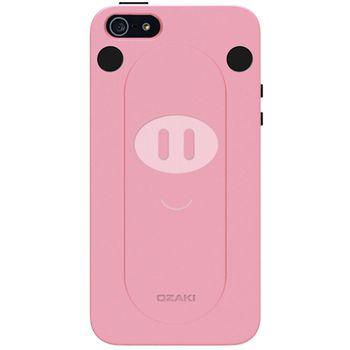 Ozaki kryt pro iPhone 5/5S se stojánkem O!coat FaaGaa_Pig