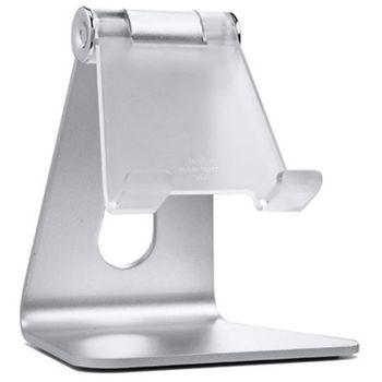 Spigen designový stojánek pro telefony a tablety, stříbrný