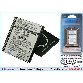Baterie náhradní (ekv. BST-39) pro Sony Ericsson W910, V630, W600, W800, K220, Li-ion 3,7V 900mAh