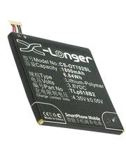 Baterie náhradní pro Alcatel Onetouch 6030D, 7024 (ekv.TLp018B2) 1800mAh Li-ion