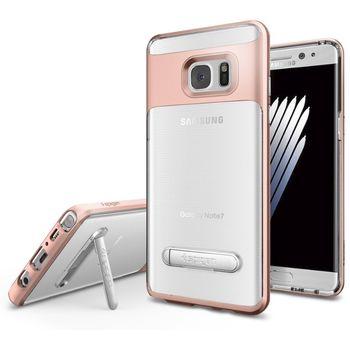 Spigen ochranný kryt Crystal Hybrid pro Galaxy Note 7, růžové