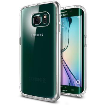 Spigen pouzdro Neo Hybrid CC pro Samsung Galaxy S6 edge, stříbrná