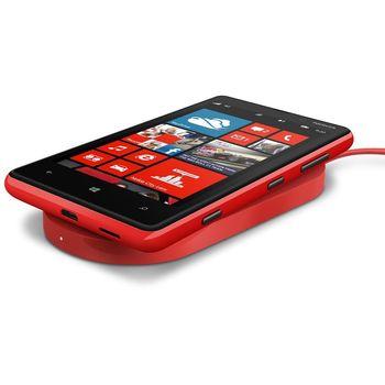 Nokia bezdrátová nabíjecí podložka DT-900 - Nokia Lumia 920/820, červená