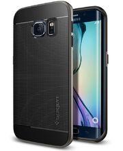 Spigen pouzdro Neo Hybrid pro  Galaxy S6 edge, kovově šedá