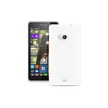 Puro zadní kryt TPU pro Microsoft Lumia 550, transparentní