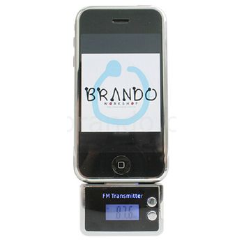FM transmitter k autorádiu - Apple iPhone 4/4S/3GS/3G/iPhone/iPod