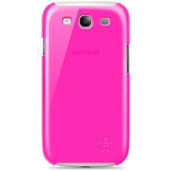 Belkin Shield Sheer pevné plastové pouzdro pro Samsung Galaxy S III, růžové (F8M403cwC03)