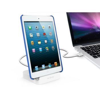 Kidigi dobíjecí a synchronizační kolébka pro Apple iPad, iPad mini a iPhone 5/5S/5C a 6/6plus, bílá
