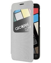 ALCATEL AF5056 Aero FlipCase POP 4+, stříbrná