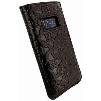 Piel Frama pouzdro pro iPhone 5 Pull Case, Brown, kvalitní kůže, ruční výroba, španělská manufaktura