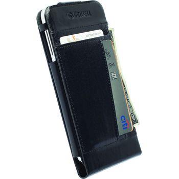 Krusell pouzdro WalletCase Kalmar - Samsung Galaxy S5, černá
