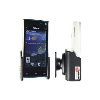 Brodit držák do auta na Nokia X6 bez pouzdra, bez nabíjení