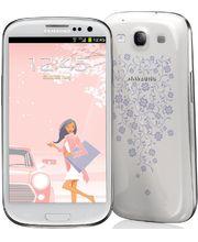 Samsung Galaxy S III i9300 16 GB, bílý La Fleur