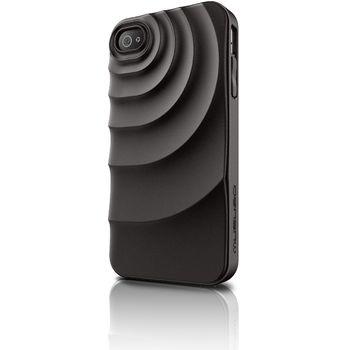 Musubo pouzdro Ripple pro Apple iPhone 4/4S - černé