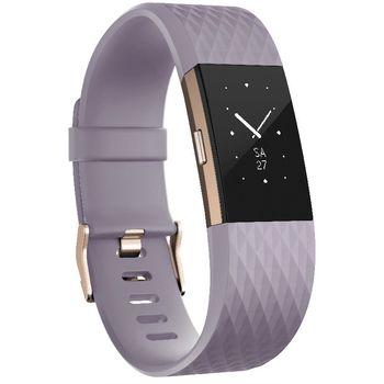 Fitbit Charge 2 velikost L, levandulová