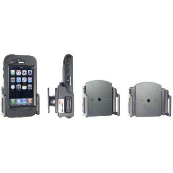 Brodit držák do auta na mobilní telefon nastavitelný, bez nabíjení, š. 62-77 mm, tl. 12-16 mm