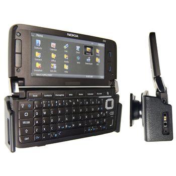 Brodit držák do auta pro Nokia E90 - horizontální bez nabíjení