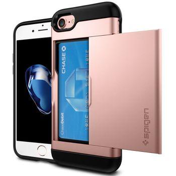 Spigen ochranný kryt Slim Armor CS pro iPhone 7, růžová