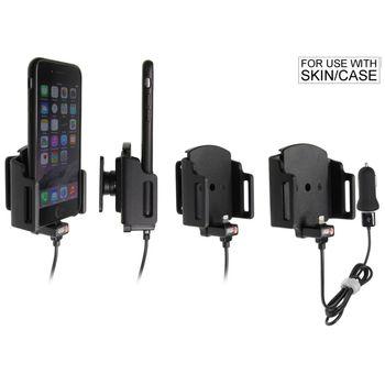 Brodit držák do auta na Apple iPhone 6/6s/7 v pouzdru, nastavitelný, s nabíjením z cig. zapal./USB