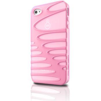 Musubo pouzdro Sexy pro Apple iPhone 4/4S - růžová