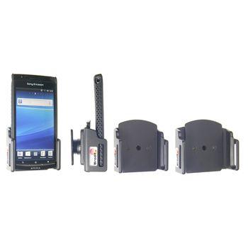 Brodit držák do auta na mobilní telefon nastavitelný, bez nabíjení, š. 62-77 mm, tl. 6-10 mm, rozbal