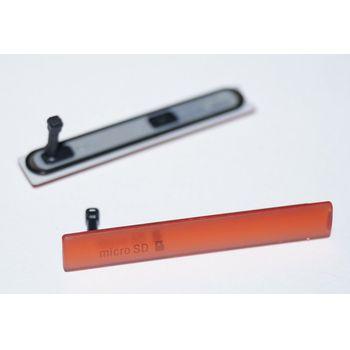 Náhradní díl krytka SIM pro Sony D5803 Xperia Z3 Compact, oranžová