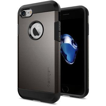 Spigen ochranný kryt Tough Armor pro iPhone 7, kovově šedá