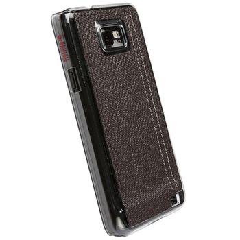 Krusell hard case - Gaia Undercover - Samsung i9100 Galaxy S II (hnědá)