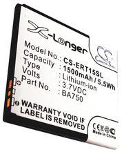 Baterie pro Sony Ericsson Arc  Li-ion 3,7V 1500mAh