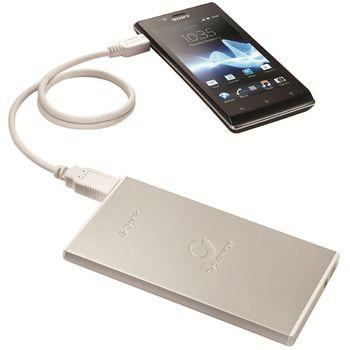 Sony přenosný USB zdroj USB 7 000 mAh, CP-F2LSA